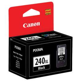 Original Canon PG-240XL inkjet cartridge - high capacity pigmented black