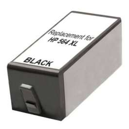 Remanufactured HP CB321WN (HP 564XL) inkjet cartridge - high capacity black